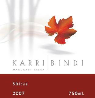 KarriBindi Margaret River Shiraz 2007