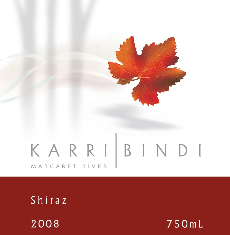 KarriBindi Margarer River Shiraz 2008